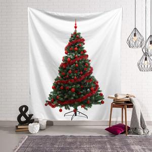 8styles Árvores de Natal Tapeçaria Tapeçaria Mural Toalha de Praia Xaile impresso Yoga Mat Party Decoration Backdrops adereços 150 * 130cm FFA3208