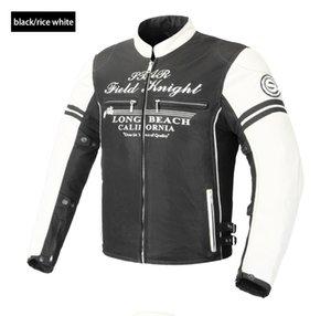 NEW 2018 СФК новый мотоцикл дышащая куртка Мотокросс протектор куртка Summmer осень-доказательство белый / серый