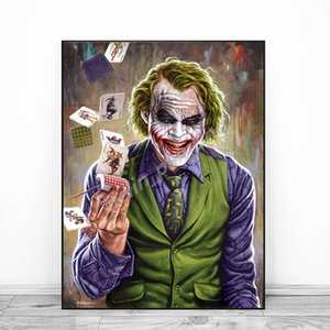 Joker Batman Latest Hottest Movie Posters Painting On Canvas Bedroom Wall Art Decoration Pictures Home Decor