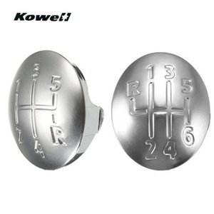 KOWELL Car Gear Shift Knob Cap Cover Insert for CLIO SCENIC MEGANE II LAGUNA KANGOO TWINGO MODUS 96-11 Shifer Lever Case