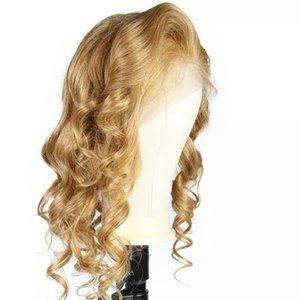 ريمي الرباط الجبهة LIN MAN شقراء الإنسان باروكة شعر بيرو مائج الشعر # 27 اللون الرباط الباروكة شعر الطفل ابيض عقدة