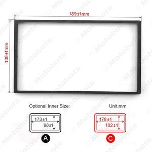 Car DVD CD Radio Stereo Fascia Panel Frame Adaptor Fitting Kit For Honda FIT(Jazz) #4406]