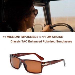 Vente en gros-Lunettes de soleil polarisées pour hommes au volant Fashion Mission Impossible4 Tom Cruise Lunettes de soleil James Bond Lunettes de soleil Oculos De Sol Masculino gozluk