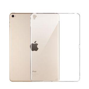 Etui en silicone pour iPad Pro 11 12.9 2018 9.7 Housse transparente transparente Etui en TPU souple pour coque arrière pour iPad 2 3 4 5 6 Air 1 Mini