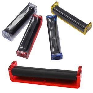 Máquina de Rolamento De Plástico Manual 70mm 78mm 110mm king size Rolos de Tabaco Automático Rolling Paper Fabricante de Cigarro Joint Easy Roller Roll