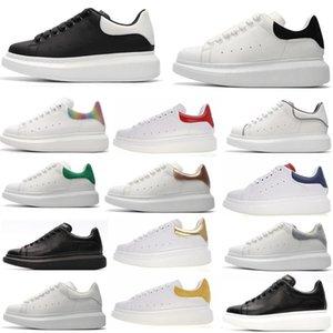 Donna Uomo caldo velluto neroscatola di alexanderMcQueens Chaussures Bella piattaforma scarpe da tennis casuali di colori solidi Dress Shoeszl6f #