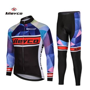 Mieyco 2020 Pro Cycling Jersey Set Long Sleeve Mountain Diames Wear Maillot Roba Ciclismo Racing Bicycle Cycling Clothes