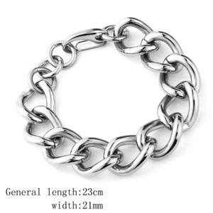 Titanium Men Bracelet Design Hip Hop Men Bracelet Jewelry