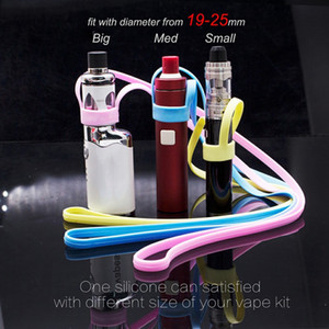 MOQ 1pcs Silicone Necklace Lanyard carrying holder Fit BillowV2 V2.5 Plus Nano Billow V3 PlusElectronic Cigarette Ecig Accessories