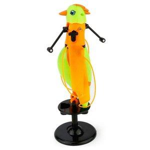 Indução voando brinquedos do papagaio infantis de música que cantam