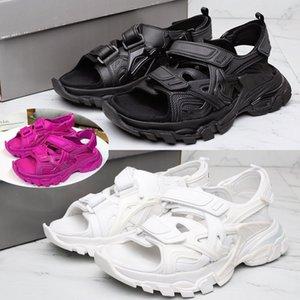 DHL Livraison gratuite Paris des femmes des hommes Designer Sandales mode piste Chaussures Casual Chaussure Slide Designer pour hommes femmes