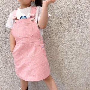 Baby Girls Clothes 2020 Малыш Милые Дети Девушки Комбинезоны Малыш Джинсовые Джинсы Комбинезоны Платье Девушки Юбка Одежда