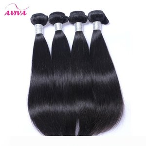 Peruvian Indian Malaysian Cambodian Brazilian Virgin Hair Weave Bundles Straight Body Wave Loose Water Deep Wave Curly Human Hair Extensions
