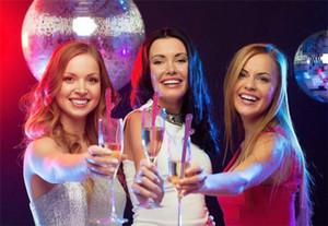 Nueva llegada Partido de gallina Pene Pajitas para beber Hen Night Chupar Crazy Straws Bachelorette Party Decorations