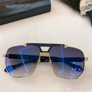 Lunettes de soleil populaires à la mode, cadre carré de haute qualité, style simple et généreux, lunettes de protection 990 avec boîte