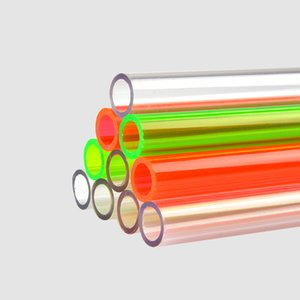 Syscooling water cooling hard tube colorful PETG tube ID 10mm OD 14 mm length 50cm used for PC water cooling
