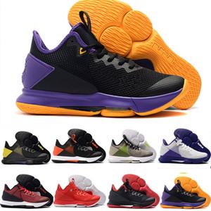 Man Outdoor Lebron Witness IV 4 EP James LBJ Basquete sapatos roxos Athletic Gym Trainers Olímpico moda casual calçados esportivos 40