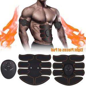 Ems Hip ejercitador abdominal aptitud Massager Glúteos Abdominales Máquina estimulador muscular eléctrico entrenador que adelgaza la correa vibrante
