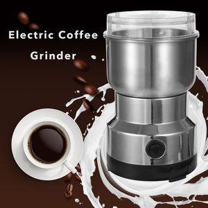 150W 300 ml de acero inoxidable eléctrica Máquina de café grano de Grinder mezcladores para Office Home Use cocina Granos Rectificadora
