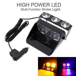 S8 24W parabrezza Strobe Light Led Viper Car Flash segnale di emergenza del vigile del fuoco Polizia Beacon Spia CLT_42O