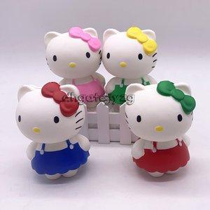 Squishy Toy 12 cm Adorável gato Lento Rising Jumbo Stress Aliviar Bonecas Multicolor Crianças Squeeze Brinquedos Crianças descompressão melhor presente