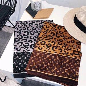 2019 Мода шарфы для женщин шелковый шарф размер 180x90cm длинный платок Большой Шарфы для дам без коробки быстрого корабля