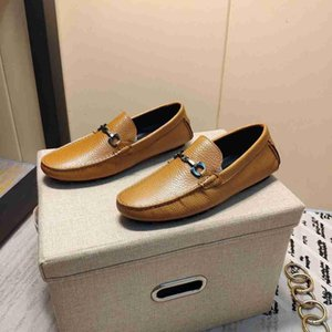 Top quality men new fashion Casual leather shoes classic flats Doug shoes 110605