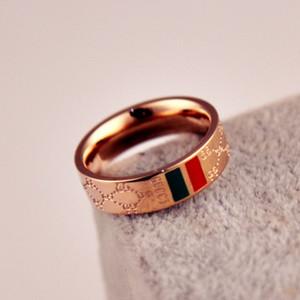 Vendita al dettaglio e vendita all'ingrosso di coppie di anelli in acciaio al titanio placcato oro rosa placcato in oro rosa 18 carati nel 2019