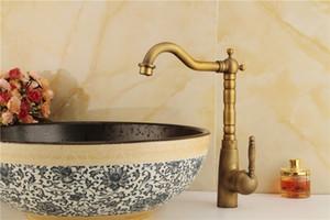 Envío gratis negro Faucet cobre cocina baño grifo del fregadero se puede girar mezclador de agua caliente y fría