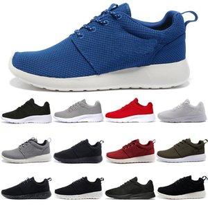 nike Novo designer de Londres Mens Running Shoes tanjun Preto branco Vermelho Das Mulheres Dos Homens tênis de Corrida Londres mens sports trainer Sneakers sapato tamanho 36-45