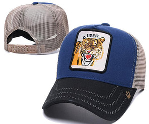 Projeto de luxo cap GARANHÃO chapéu Tigre Marca de Prata Fox Cap Sólida dos homens das mulheres osso snapback Ajustável ROO Casquette boné de beisebol animal de golfe 03