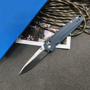 Top Quality Butterfly 485 Knife D2 steel Blade G10 handle Copper washer folding dinner kitchen camping Pocket Survival hunting EDC Tool knives