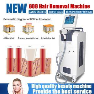 Il laser a diodi 808nm senza dolore professionale rimuove permanentemente i capelli del bikini della barba dei capelli di ascella o qualunque altri capelli indesiderabili per tutto il tipo di pelle