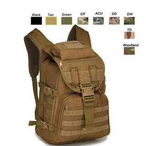 Outdoor Sports Waterproof Tactical Pack Bag  Rucksack   Knapsack   Assault Combat Camouflage Tactical Camo Molle Backpack 35L P11-018