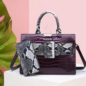 Высокое качество Крокодил Pattern Женские сумки на ремне Многоцелевой Серпантин Женщины сумки Мода PU кожа Crossbody сумки
