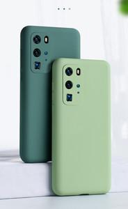 para Samsung Galaxy S20 Ultra pele S20 Além disso S20 Caso Borracha de Silicone Líquido toque suave tampa traseira Camera Proteja à prova de choque Funda