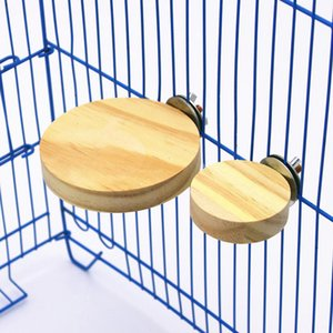Hamster Platformu Dikdörtgen Sincap Kafesi Ahşap Levha Oyuncak Kuş Papağan Ahşap Platformu Raf Standı Raf Standı