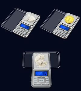 Escalas digital de bolsillo mini escala electrónica de bolsillo 200g joyería 0.01g escala del balance de la escala del diamante Pantalla LCD con paquete al por menor