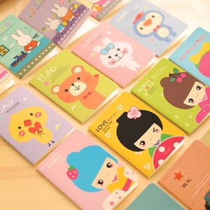 Flower-like children's stationery cute candy color creative portable Notebook Notepad notepad small notebook small gift