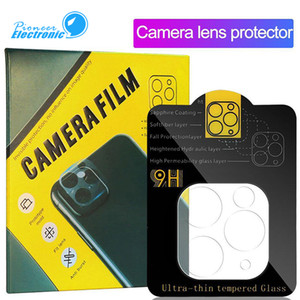 Camera Film Tempered Glass for iPhone 11 Pro Max Samsung S20 Ultra Camera Lens Screen Protector Full Cover Clear with Retail Package