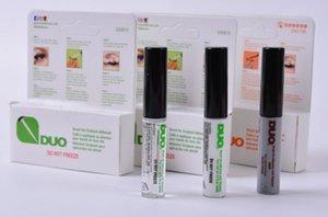 듀오 도착 속눈썹 접착제 눈 속눈썹 접착제 브러시에 접착제 비타민 화이트 / 투명 / 블랙 / 5g 새로운 포장 메이크업 도구 DHL SHOP