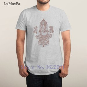 Персонализированная Kawaii Футболка Ganesh Great лето Мужской классическая Euro Размер S-3XL Tee рубашка для мужчин в Верхнем качестве