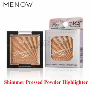 6 Styles Glitter Highlight Shimmering Pressed Powder Long-lasting Powder Shimmer Powder Palette Face Bronzer Highlighters Face Makeup