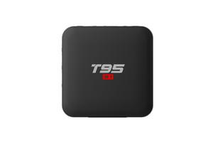 T95 S1 Smart TV Box Amlogic S905W Dört Çekirdekli 2GB 16G 1GB 8GB Android 7.1 işletim sistemi desteği sesli uzak