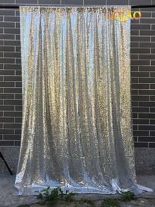 120x300 cm backdrops de lantejoulas de prata, Glitter cortina de lantejoulas, casamento Photo Booth pano de fundo, fundo de fotografia, decoração do partido
