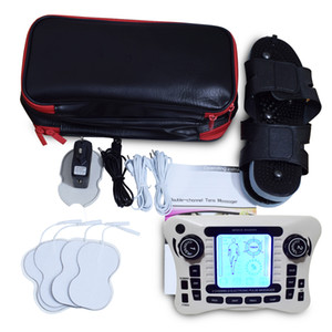 TENS UNITE / sortie bicanal TENS stimulateur EMS / musculaire nerveuse électrique / thérapie numérique Massager / physiothérapie