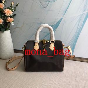 designer bolsas Speedy Mulheres Moda saco de couro real bostson G Flor mulheres bolsas em bolsas de moda senhoras 3 tamanhos