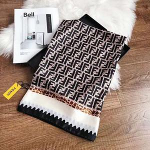 Mode Schals für Frauen-Druck-Silk Schal Weibliche 180x90cm lange Schal Bandana für Kopf Große Hijab Schals für Damen RT990b