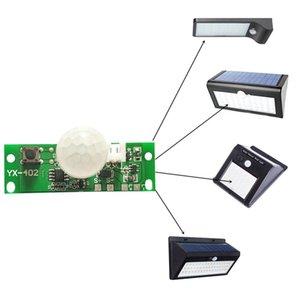 Sensor barato Painel solar 3.7V DIY Kits Lâmpada Solar Controle Board Night Light Controlador Módulo infravermelho indução Modalidade de trabalho do corpo humano