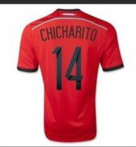18-19 y 2014 México 14 mujeres Chicharito calidad tailandesa jerseys modificados para requisitos O.Peralta 19 para mujer camisetas Fútbol 11 Desgaste C.VELA fútbol